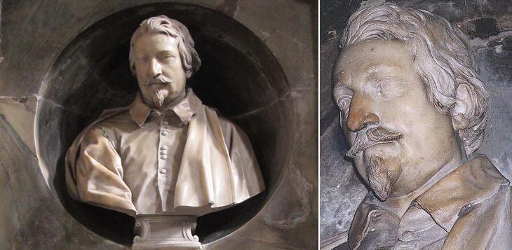 Three Busts By Alessandro Algardi