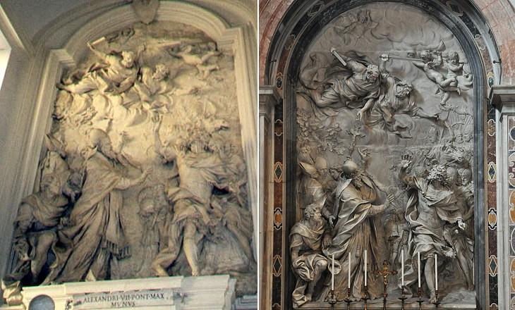 Baroque High Reliefs
