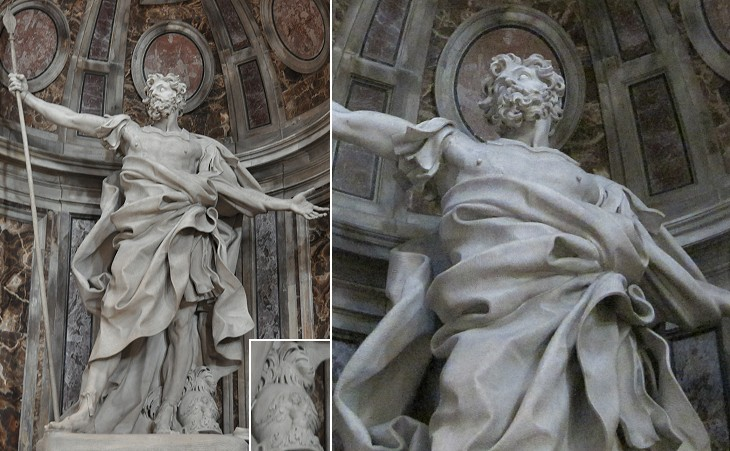 St. Longinus by Gian Lorenzo Bernini