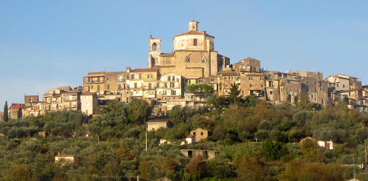 View of Castel Madama