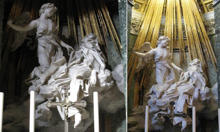 The ecstasy of St. Theresa