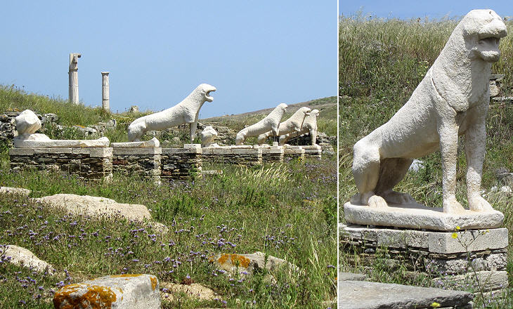 Greeces Heart - Delos - The Sanctuaries