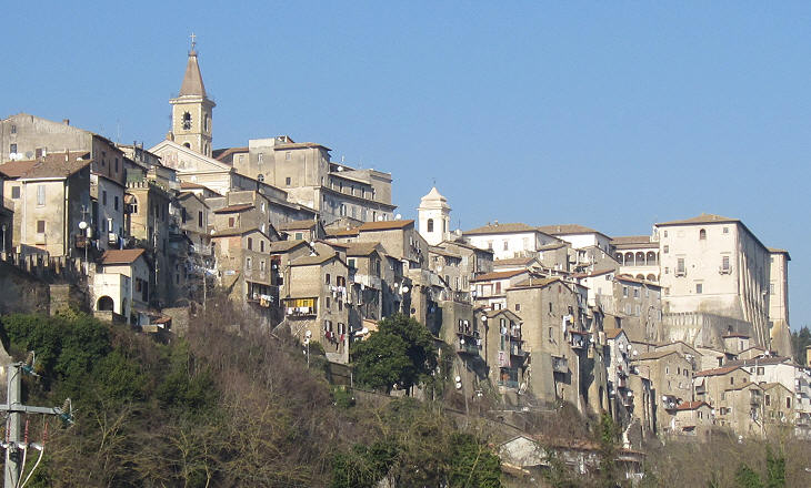 View of Genazzano