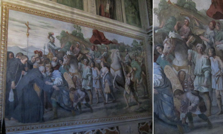 Fresco by il Domenichino