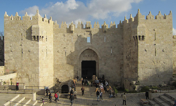 Twain And Turner S Holy Land Jerusalem The Walls