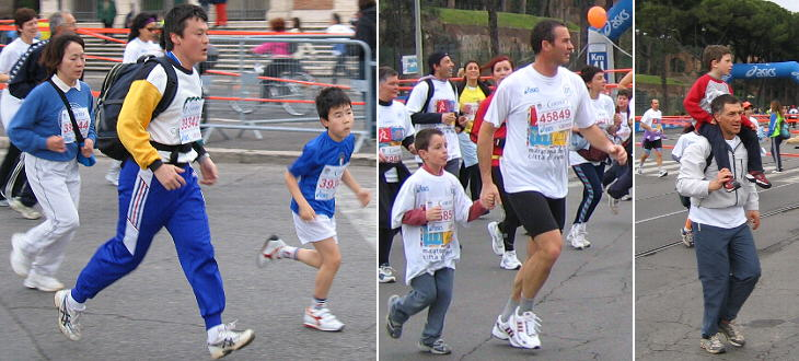 The Fun Run is open to everybody: children are welcome