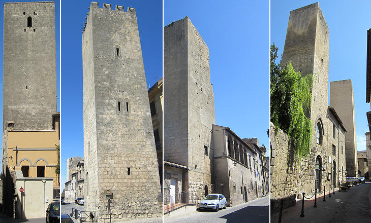 Towers of Corneto