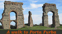 A walk to Porta Furba