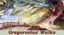 Ferdinand Gregorovius' Walks