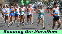Running the Marathon