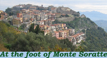 At the foot of Monte Soratte
