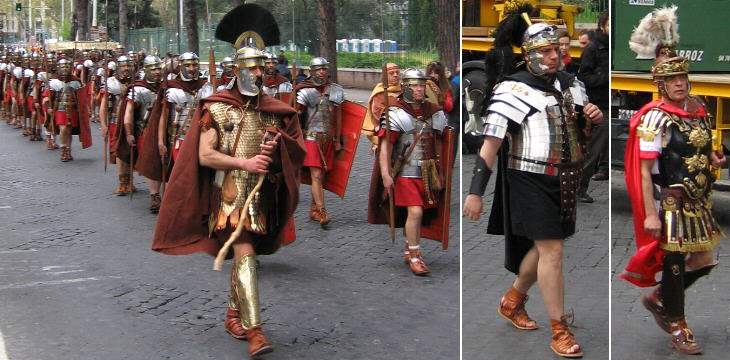 Some of the best known Roman military attires