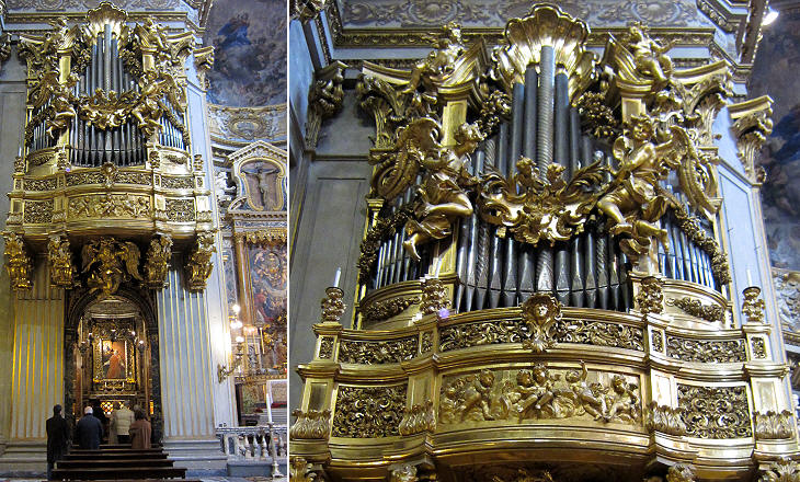 Organ in S. Maria in Vallicella