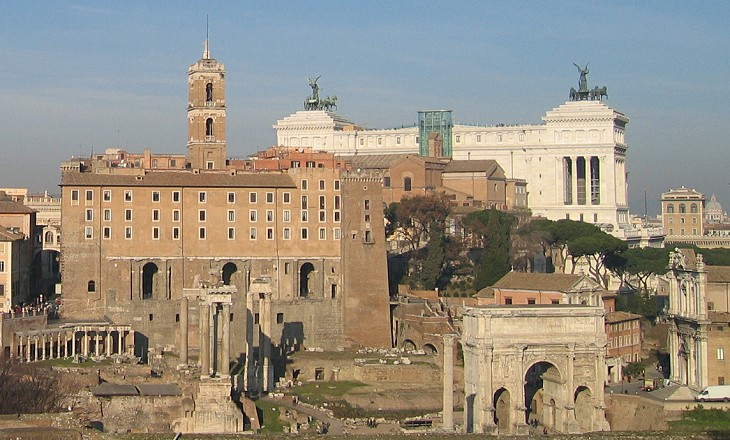 View towards Campidoglio