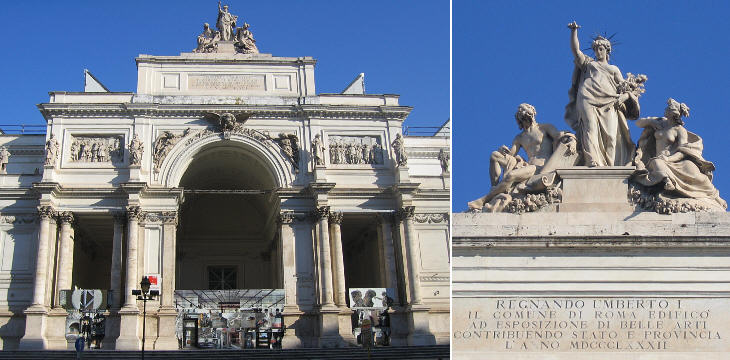 Abridged history of rome part iv i chronology of the for Palazzo delle esposizioni rome italy