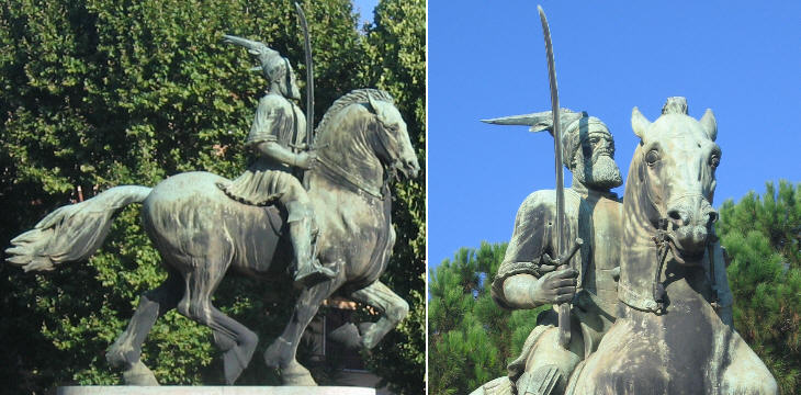 Monument to Scanderbeg