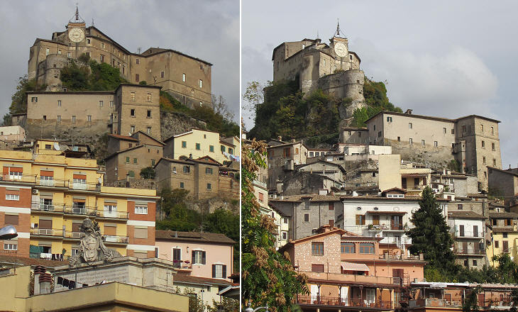 Views of Rocca Abbaziale