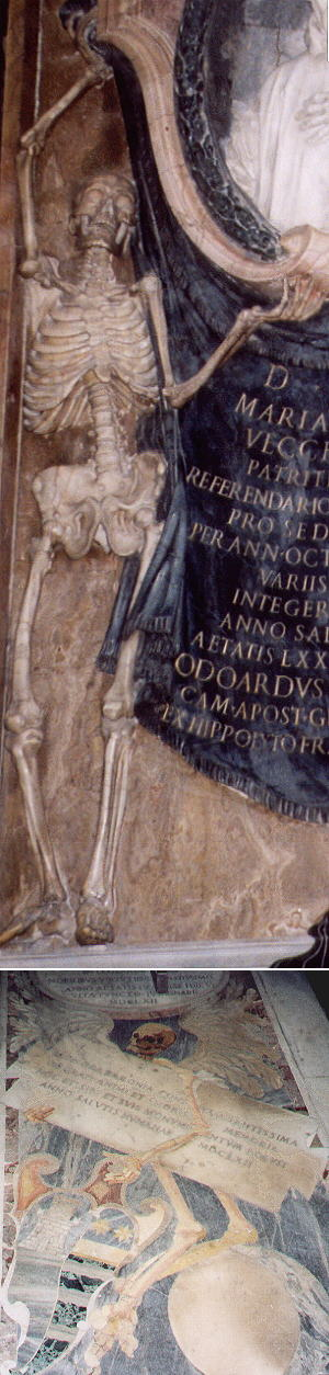 Skeleton in S. Pietro in Vincoli