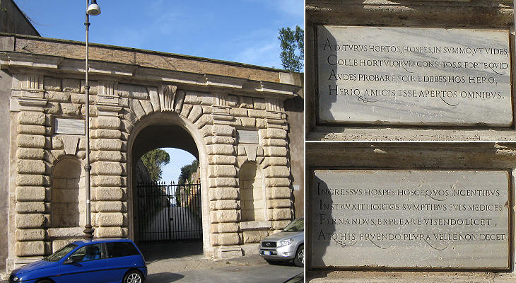 The Gate of Villa Medici