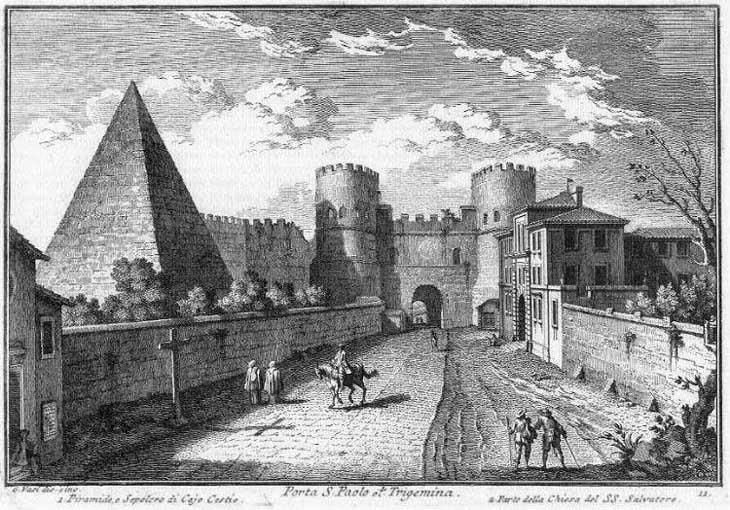 Porta s paolo for Di giuseppe arredamenti roma
