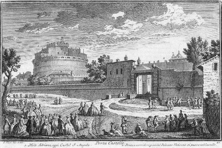 Rione di Prati di Castello in Roma