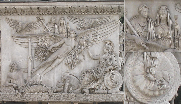 The relief of Colonna Antonina