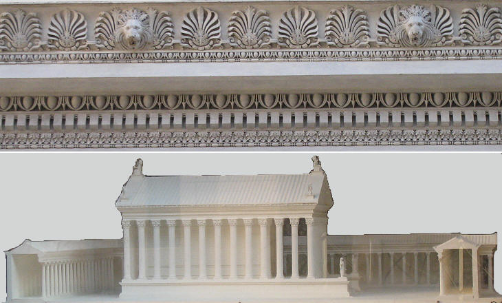 Cornice and reconstruction