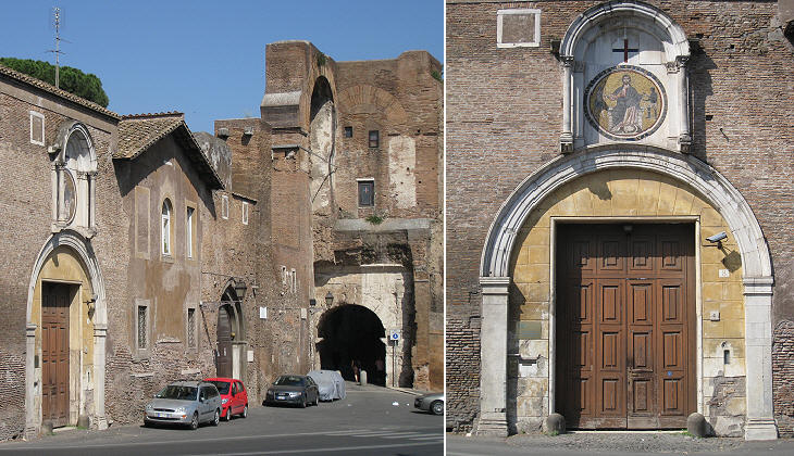 Medieval buildings and S. Tommaso in Formis