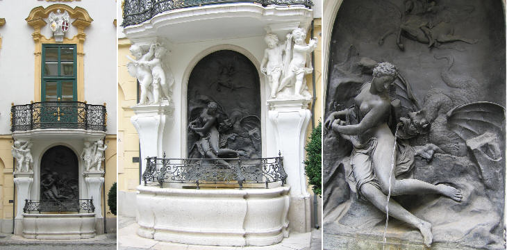 Andromeda-Brunnen in Altes Rathaus