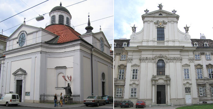 Garde Kirche and Salesianerinnenkirche