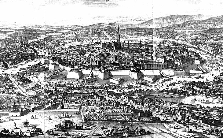View of 1683 Vienna