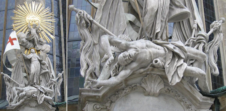 Monument to Giovanni da Capistrano in Stephansdom
