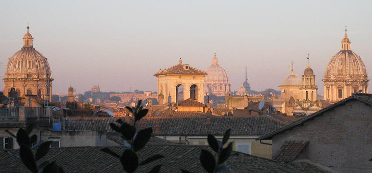 Days Of Peace Visiting Rome At Dawn