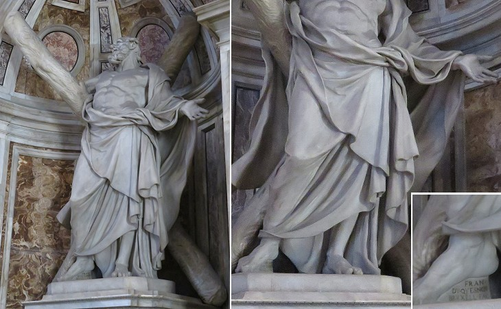 Embittered Andrew - The Statues in the Octagon of St
