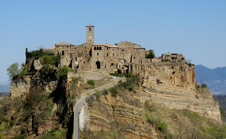 western side of civita