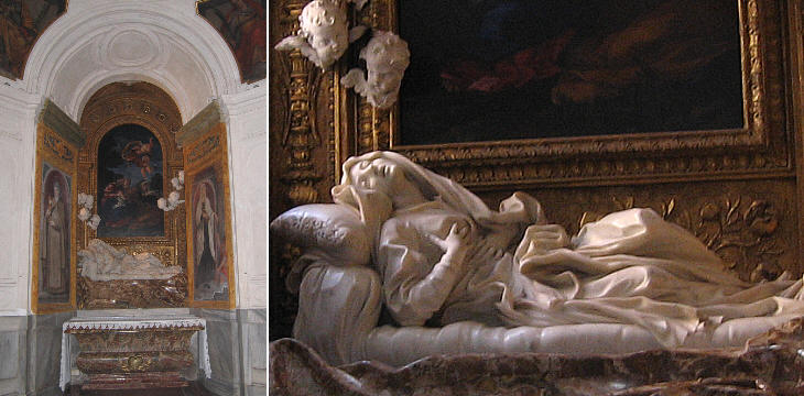 Three chapels by Gian Lorenzo Bernini - Cappella Cornaro