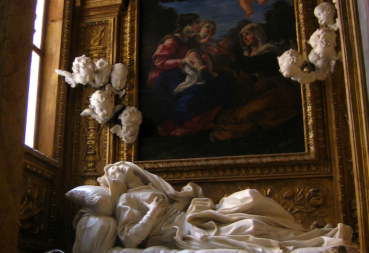 Three Chapels By Gian Lorenzo Bernini Cappella Cornaro