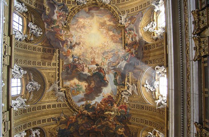 Baroque ceilings