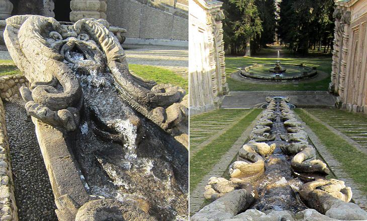 Gardens Of Palazzo Farnese Di Caprarola