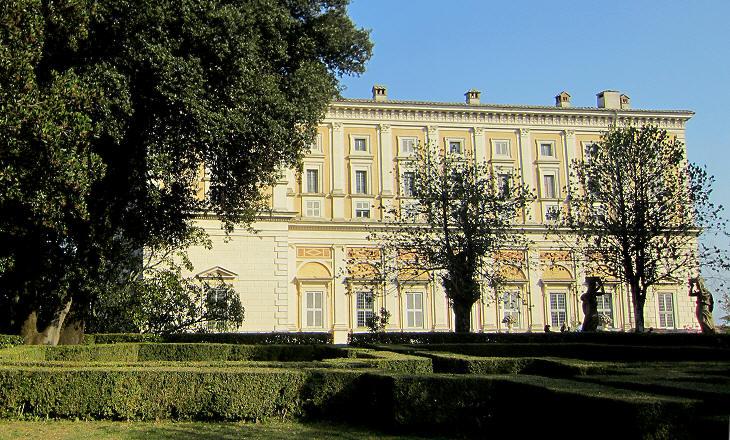 Gardens of palazzo farnese di caprarola - I giardini di palazzo rucellai ...