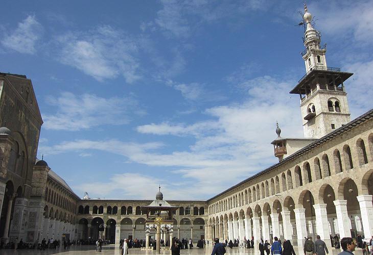 Damascus - the Umayyad Mosque