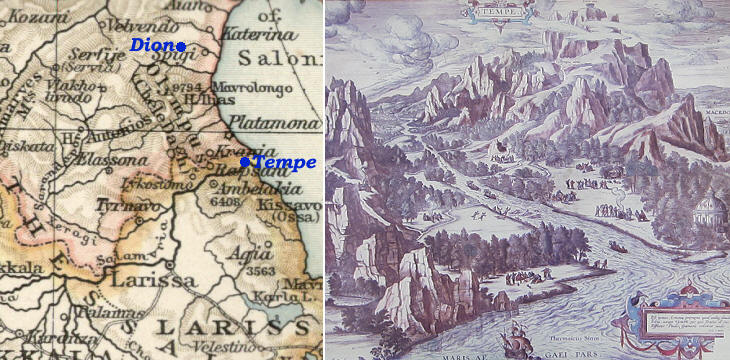 In Sight Of The Gods Mount Olympus Part One Introduction And Dion - Olympus map