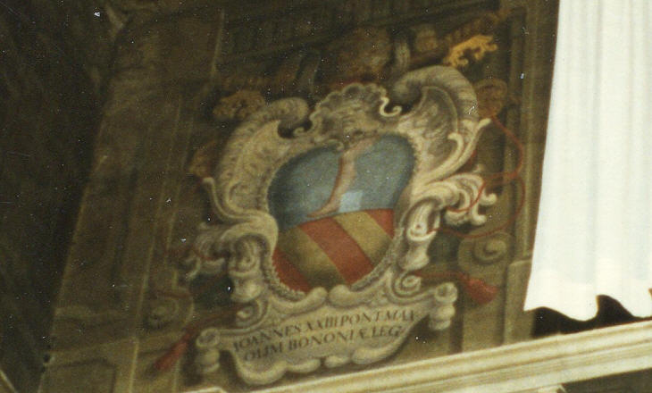 Alphabetical directory of the Coats of Arms of the Popes