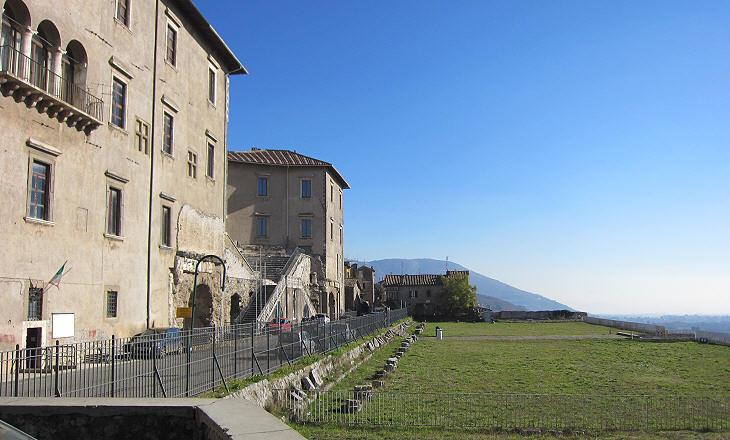 Palestrina Sanctuary Of Fortuna Primigenia