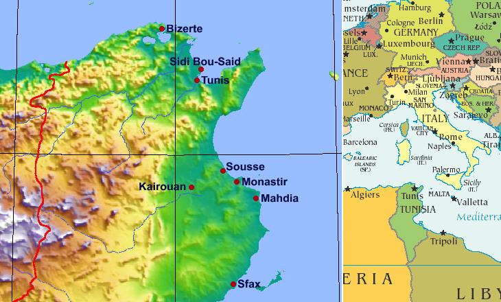 Some Tunisian Medinas