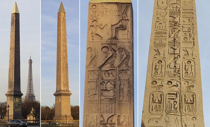 Image result for paris egyptian monument