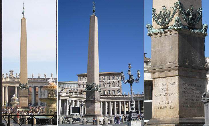 The Obelisks Of Rome