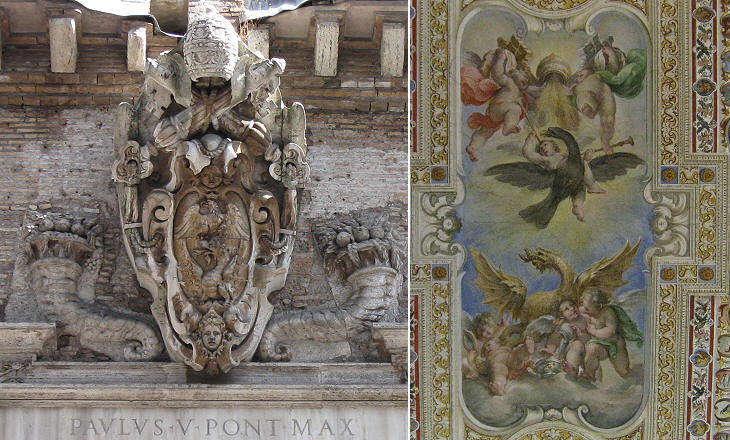 The Coats of Arms of the Popes during the XVIIth century