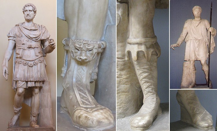 Roman Feet and Sandals