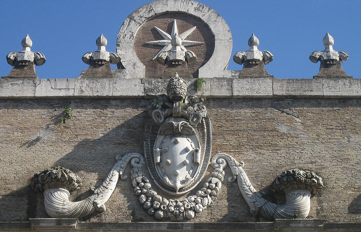 The Coats of Arms of the Popes during the Counter